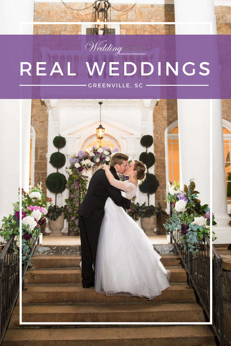 Real Weddings | Kelly & Dan | 11.04.17  - Featuring DreamShots Photography, The Gassaway Mansion, & Couture Cakes of Greenville.